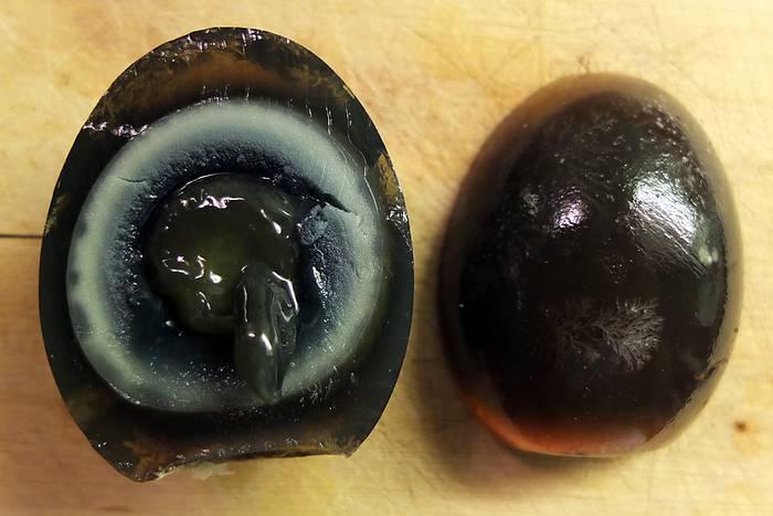 Geräucherte Eier